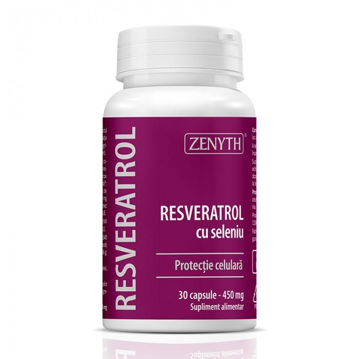 Resveratrol cu Seleniu (30 capsule), Zenyth Pharmaceuticals