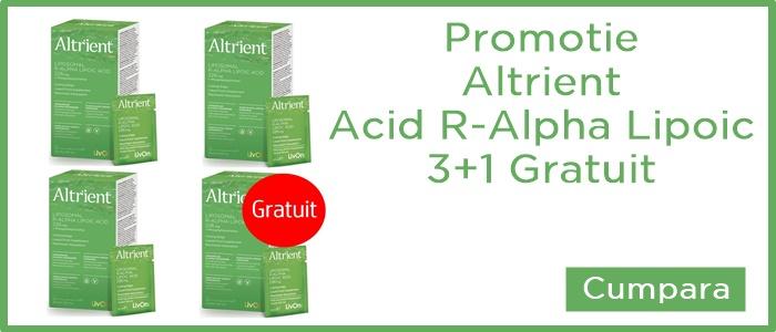 pachet 3+1 altrient acid r-alfa lipoic