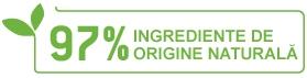 97% ingrediente de origine naturala
