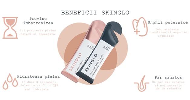 skinglo beneficii