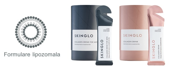 skinglo formulare lipozomala